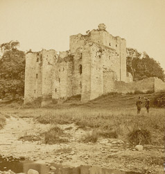 Brougham Castle, From The North